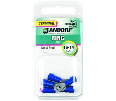 Jandorf 60906 Terminal Ring 16-14 Vinyl Insulated N8