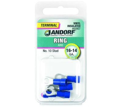 Jandorf 60907 Terminal Ring 16-14 Vinyl In N10