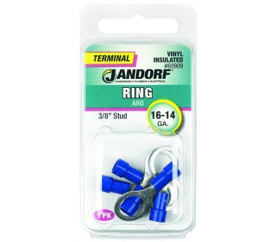 Jandorf 60909 Terminal Ring 16-14 Vinyl In 3/8