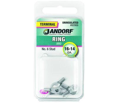 Jandorf 60966 Terminal Ring 16-14 Uninsulated N6