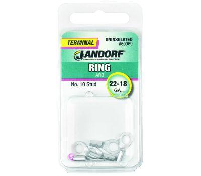 Jandorf 60969 Terminal Ring 22-18 Uninsulated N10
