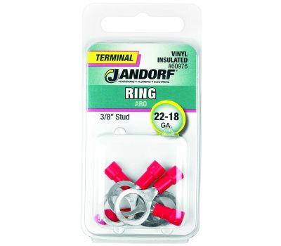 Jandorf 60976 Terminal Ring 22-18 Vinyl In 3/8