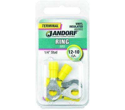 Jandorf 60993 Terminal Ring 12-10 Vinyl In 1/4