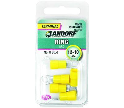 Jandorf 60996 Terminal Ring 12-10 Vinyl Insulated N8
