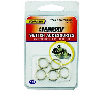 Jandorf 61155 Toggle Switch Nuts