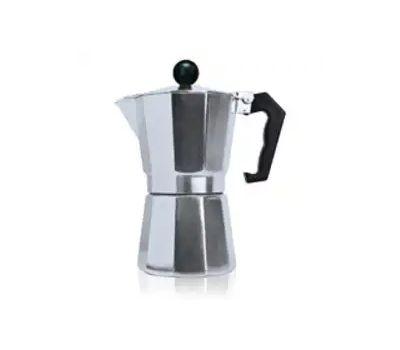 Epoca TES-3306 Primula Stovetop Espresso Coffee Maker, 6 Cups Capacity, Aluminum
