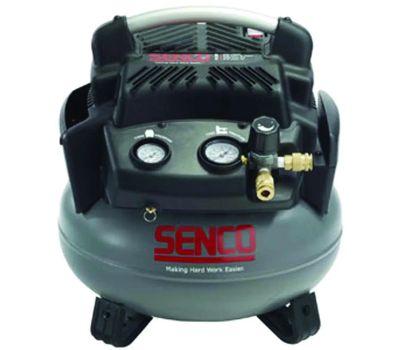 Senco PC1280 Air Compressor, 6 Gal Tank, 1.5 Hp, 115 V, 150 Psi Pressure, 2.8 Scfm Air