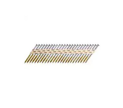 Senco MD25AJBDN Metal Connector Nail, 2-1/2 in L, Steel, Galvanized, Round Head, Smooth Shank