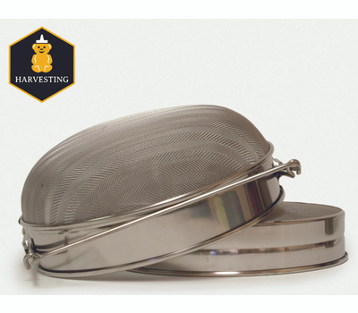 Harvest Lane Honey HONEYM-102 Honey Sieve Doublescreen Metal