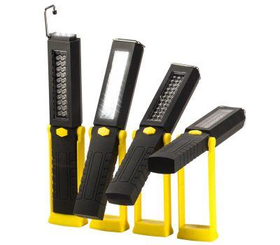 Promier 42LEDWORKYELLOW 6 Plus 36 Led Swivel Flashlight & Task Light Black & Yellow Stand