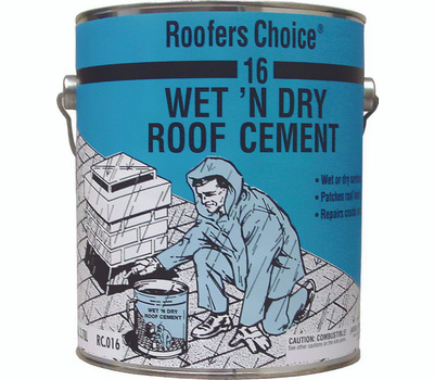 Henry RC016042 Roofers Choice Roofers Choice 16 Series Roof Cement, Liquid, Paste, Petrol, Black, 0.9 Gal Pail