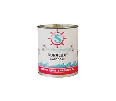 California Products M731-4 Duralux Haze Gray Gloss Marine Enamel Quart Oil Based