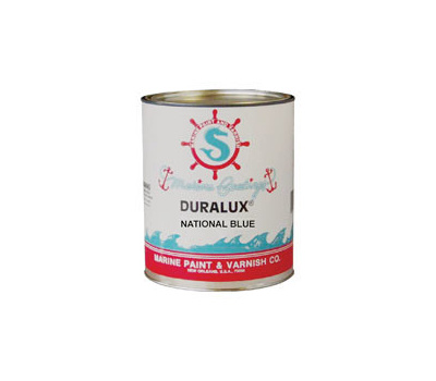 California Products M748-4 Duralux National Blue Gloss Marine Enamel Quart Oil Based