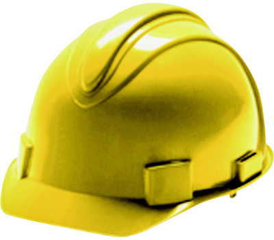 Surewerx 3013370 Charger Hardhat Yellow 4 Point Ratchet