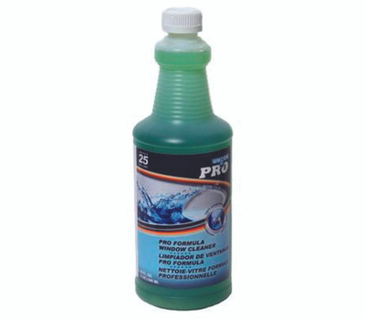 Unger Industrial 0400 Easyglide Glass Cleaner, 32 Ounce, Liquid, Pleasant, Clear Green
