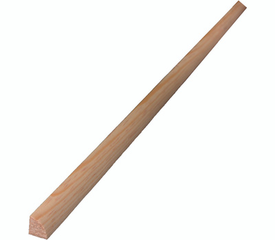 Alexandria Moulding 00100-20096C1 1/2 By 1/2 Inch By 8 Foot Quarter Round