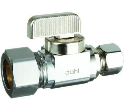 Dahl Brothers 511-33-31-BAG Vlv Chrm 5/8incx3/8inc