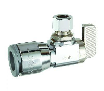 Dahl Brothers 211-QG3-31 Valve Supply Stop Angle Chrome