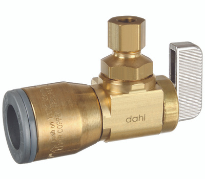 Dahl Brothers 621-QG3-30 Valve Ang 1/2quick X 1/4od