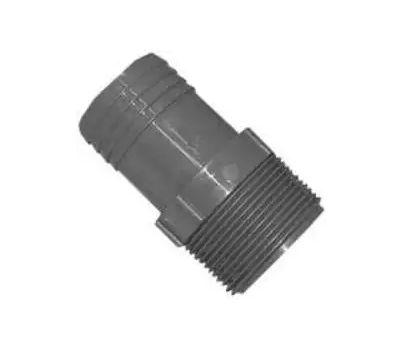 Boshart Industries 350415 1-1/2 Inch Poly Insert Male Adapter Insert X MIP