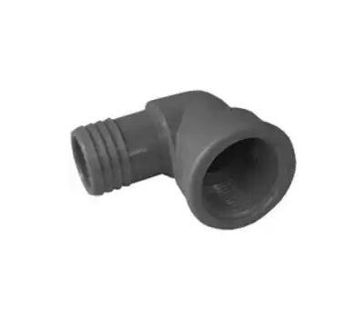 Boshart Industries 353915 1-1/2 Inch Poly Insert Combo Female Elbow Insert X FIP