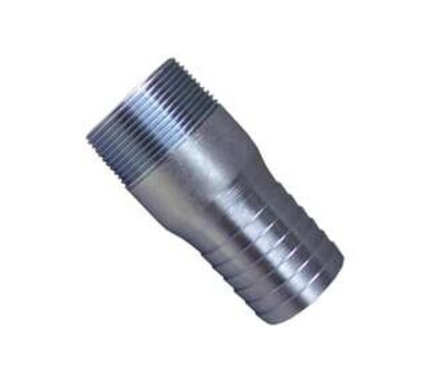 Boshart Industries 370415 1-1/2 Inch Galvanized Insert Male Adapter Insert X Mip