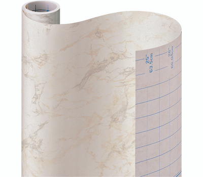 Kittrich 09F-C9823-12 Contact 18 Inch By 9 Foot Beige Marble