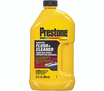 Prestone AS105Y As-105y Series Radiator Flush and Cleaner, 22 Ounce Bottle, Liquid, Sweet