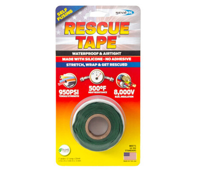 Harbor Products RT12012BGN Tape Silicone Green 1inx12ft
