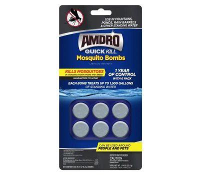 Central Garden 100530552 Amdro Quick Kill Mosquito Bomb, Solid