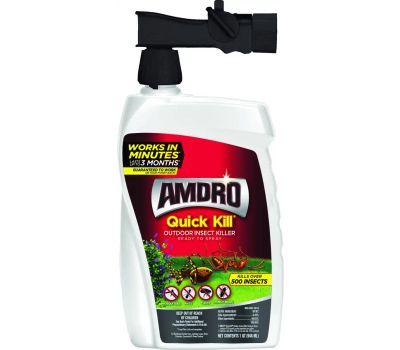 Central Garden 100522991 Amdro Quick Kill Outdoor Insect Killer, Liquid, Spray Application, 32 Ounce