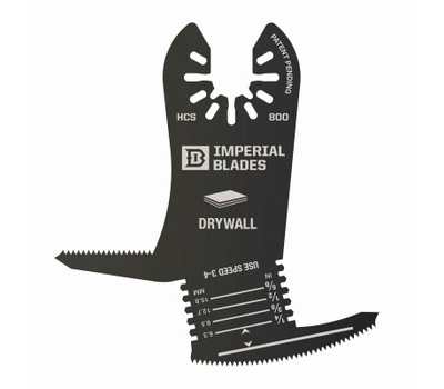 Imperial Blades IBOA800-1 One Fit Iboa800 4-in-1 Blade, High Carbon Steel