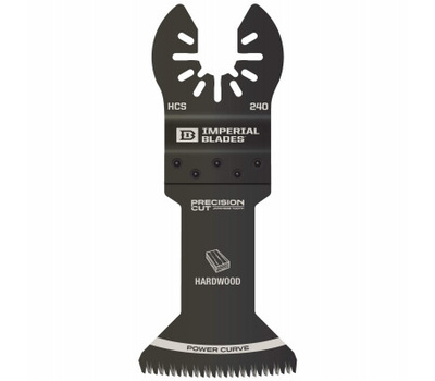 Imperial Blades IBOA240-1 One Fit Power Curve Blade, 1-3/4 in, High Carbon Steel
