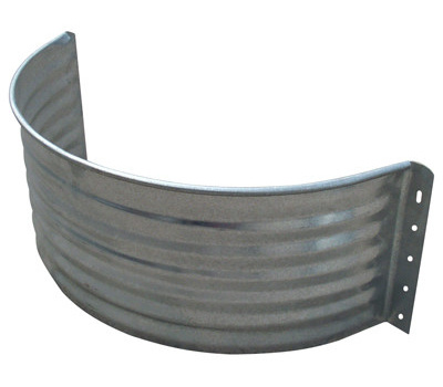 Jack Post AW-24R 24 By 37 3/4 Galvanized Round Area Wall