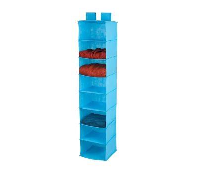 Honey Can Do SFT-02820 8 Shelf Hanging Organizer Ocean Blue