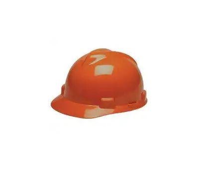 Safety Works SWX00305-01 V Gard Hard Hat With Rcht Orange