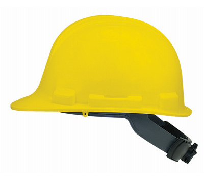 Safety Works SWX00347-01 V Gard Swx00347 Hard Hat, 4-Point Textile Suspension, Hdpe Shell, Yellow, Class: E