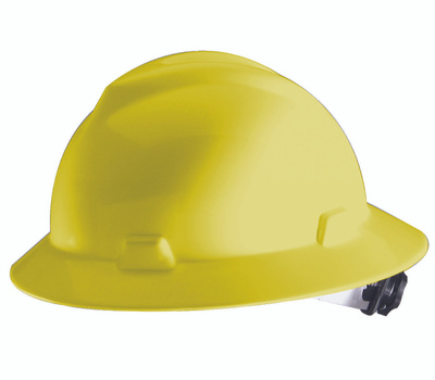 Safety Works SWX00349-01 Full Brim Hard Hat Yellow