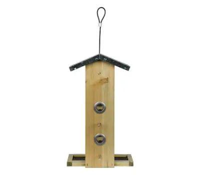 Natures Way WWGF1-DECO Vert Hopper Bird Feeder