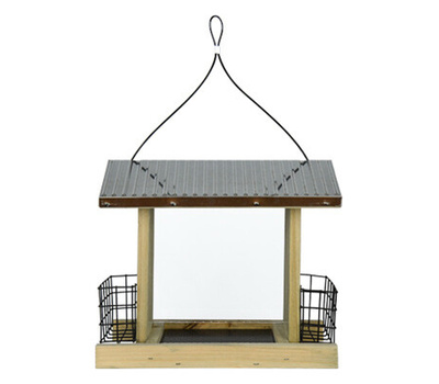 Natures Way WWGF2-DECO Rust Hopper Bird Feeder