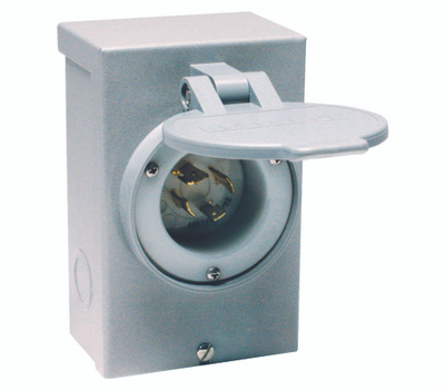 Reliance Controls PB30RC 30 Amp Outdr Power Inlet Box