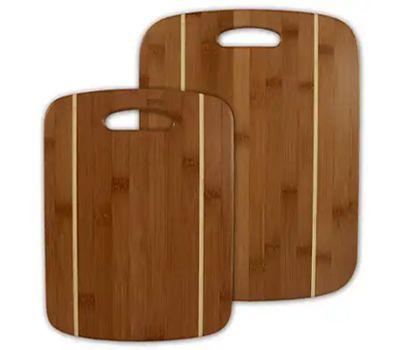 Totally Bamboo 20-2036 Strip Cut Board Set 2 Piece