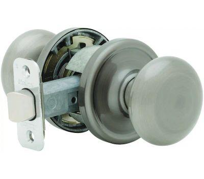 Kwikset 720J 15 CP Juno Hall And Closet Passage Lockset Satin Nickel