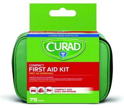 Medline CURFAK200RB Curad First Aid Kit, 75-Piece