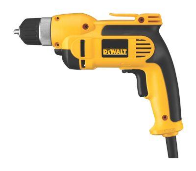 DeWalt DWD110K 7.0 Amp 3/8 Inch Vsr Pistol Grip Drill Kit With Keyless Chuck