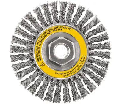 DeWalt DW49201 5x5/8-11 Hp Wire Wheel