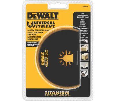 DeWalt DWA4211 Titanium Semi Circle Bi-Metal Oscillating Blade