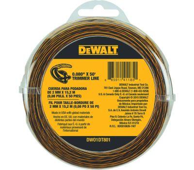 DeWalt DWO1DT801 Trimmer Line.080x50ft