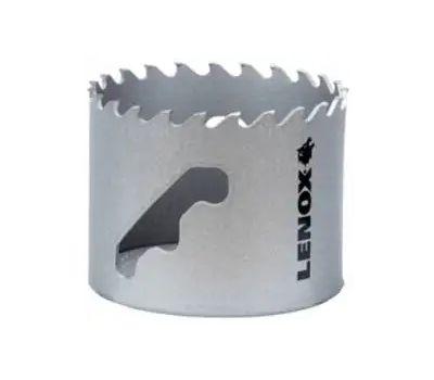 Lenox LXAH32916 Speed Slot Hole Saw, 2-9/16 in Dia, Carbide Cutting Edge