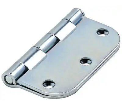 National Hardware N830-190 Door Hinge 3 Inch 5/8 Radius Zinc